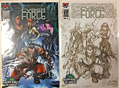 Top Cow CYBERFORCE #7 first printing Long Beach Comic Con Exclusive variant