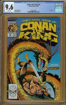 Conan the King #55 CGC 9.6 Last Issue Highest Graded