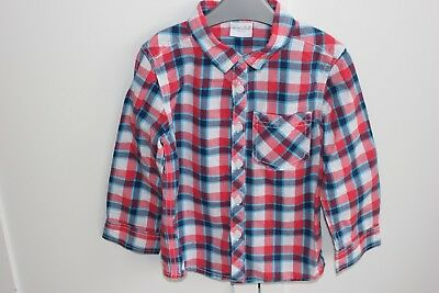 Boy's checked shirt age 3-4 years Boots Miniclub only worn once