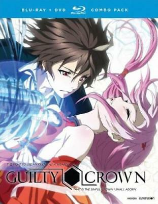 GUILTY CROWN: THE COMPLETE SERIES (Region A BluRay,US Import,sealed.)