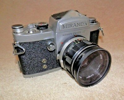 Early Miranda Camera With  50Mm 1.9 Miranda  Lens