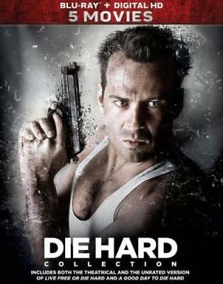 DIE HARD 5-MOVIE COLLECTION (Region A BluRay,US Import,sealed)