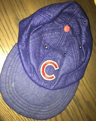 Vintage 1980s Official Chicago Cubs Baseball Cap