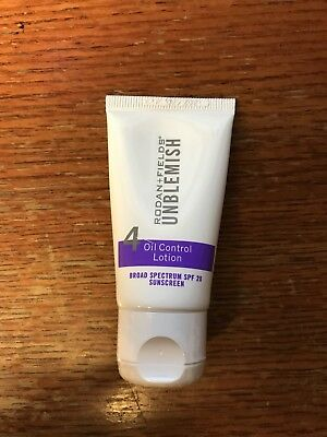 Rodan and Fields Unblemish Step 4 Oil Control Lotion 1 Oz. *NEW* *FREE SHIPPING*