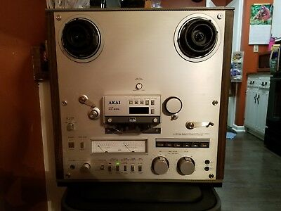 AKAI GX-625 4 track Stereo Tape Recorder Deck Reel to Reel (NOT WORKING)