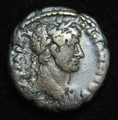 Hadrian BI tetradrachm Alexandria Egypt, rev. head of Zeus L-Γ r.y.3 118-119AD