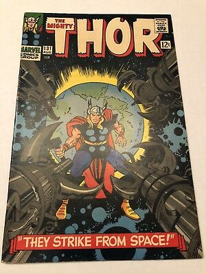 Thor #131 (Aug 1966, Marvel) FN Fine Silver Age No Reserve! Beautiful copy!