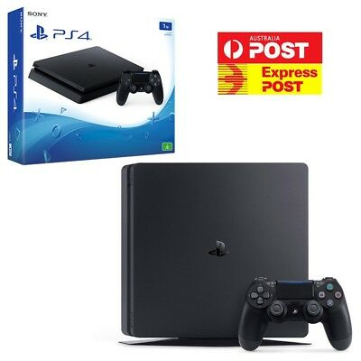 PlayStation 4 (PS4) Slim 1TB Console Brand New Free EXPRESS Postage