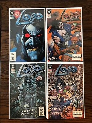 LOBO Complete Comic Book Lot #1 2 3 4 VF/NM (1990 First Series) Comics