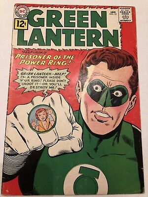 Green Lantern #10 VG Silver Age No Reserve! Nice Copy DC Justice League