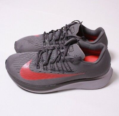 662ffdc7188c NIKE ZOOM FLY Vast Grey Anthracite Men Size 7 Sneakers Retail  150 ...