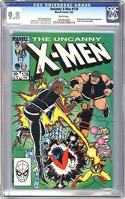 Uncanny X-Men 178 CGC 9.8 | Marvel 1984 | Brotherhood of Evil Mutants App.