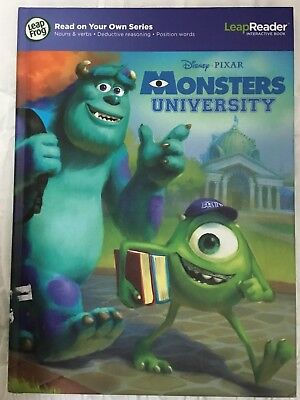 Leap Frog Leap Reader Monsters University Tag Book