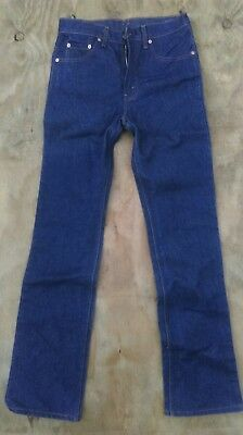 New W/o Tags Vintage Rigid Deadstock 1980's Levis 517 Jeans
