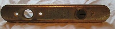 Old Door Know Brass Metal Plate Cover