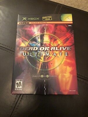 Dead or Alive Ultimate 1, 2 (Microsoft Xbox, 2004) Resurfaced Free Shipping