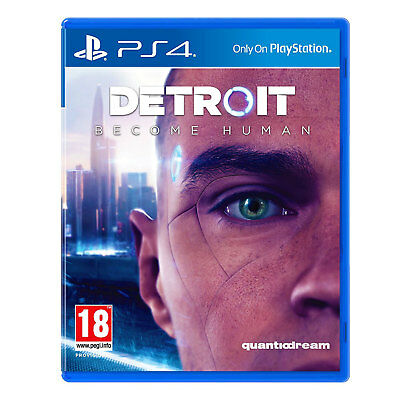 Detroit: Become Human (PS4) Game | New & Sealed | Fast & Free Recorded Delivery!