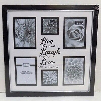 Live Laugh Love Collage 6 Picture Frame New 1599 Picclick