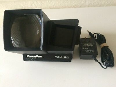 Vintage Pana-Vue Automatic by View-Master Slide Viewer W/ Original AC Adapter