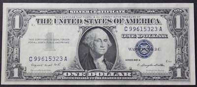 United States Series 1957 A One Dollar Silver Certificate Note, Crisp Choice XF