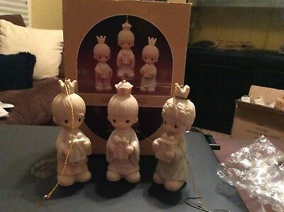 Precious Moments Wee Three Kings E-5635 1981 With Box