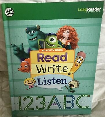 Leap Frog Leap Reader Read Write Listen Tag Book