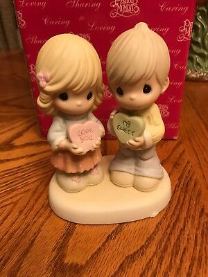 Precious Moments How Sweet it is to Be Loved by You Figurine #630001