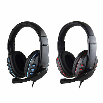 Gaming Headset For PS4 Xbox PC Xboxone Mic Stereo Surround Headphone 3.5mm Wired