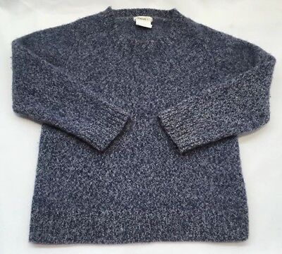 Crewcuts Toddler Boy Sweater Blue All Wool Size 3