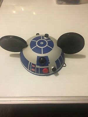 Disney Parks, Star Wars Hat, R2D2 & Mickey Mouse Ears, Size (54Cm) Youth