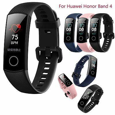 "Para Huawei Honor band 4 Pulsera 0.95"" AMOLED Touch screen BT Heart Rate Reloj"