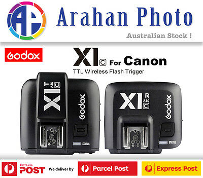Godox X1C TTL Wireless Flash Trigger Set (Transmitter+Receiver) for Canon