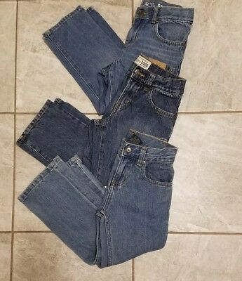 Boys Jeans Lot Of 3 Pair's 2 Children Place 1 Faded Glory