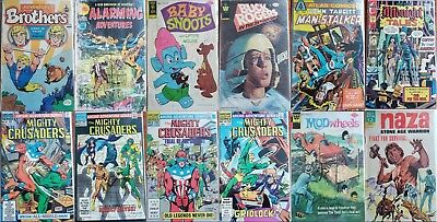 Huge Lot Of 20 Independent Comics (Silver/ Bronze/ Copper Age) Blow Out Sale!!!