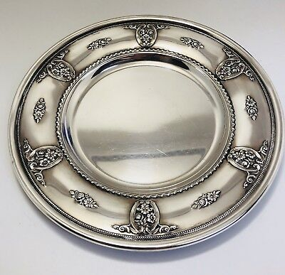 Wallace Rose Point Sterling Silver Bread & Butter Plate 4640-9