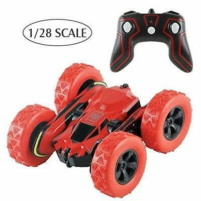 BIG HOUSE RC Stunt Cars, 1:28 4WD Monster Truck Double Sided 360° Rotating Tumb