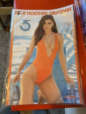 Hooters Calendar 2019 South Florida Girls With Coupons $75 Worth