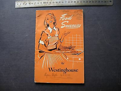 Westinghouse Refrigerator Recipes Booklet