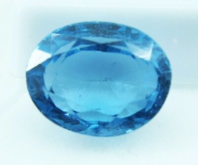 12.25 Ct Natural Oval Cut Transparent Ocean Blue Aquamarine Gem GGL certified