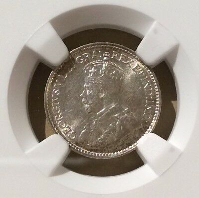 1929 Newfoundland Five Cents NGC MS 64 - Silver