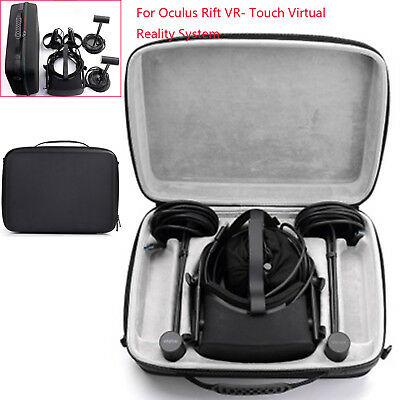 Black Carry Case Storage Bag for Oculus Rift VR- Touch Virtual Reality System IP