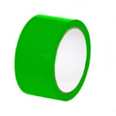 """Green Colored Aisle Marking Tape 2"""" x 36 Yards 7 Mil Warning Tapes 24 Rolls"""