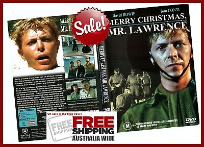 Merry Christmas Mr Lawrence.Merry Christmas Mr Lawrence Dvd David Bowie Exc Cond Free Postage