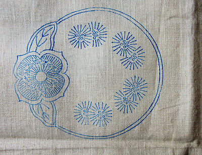 Vintage Linen Placemat, Coaster & Table Centrepiece Embroidery Transfer Kit