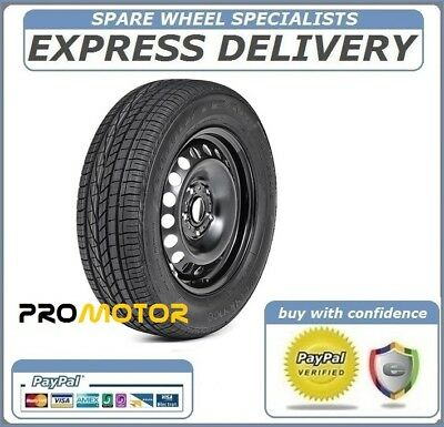 """HONDA HR-V 2015-PRESENT DAY 16"""" FULL SIZE STEEL SPARE WHEEL AND TYRE 215/60r16"""