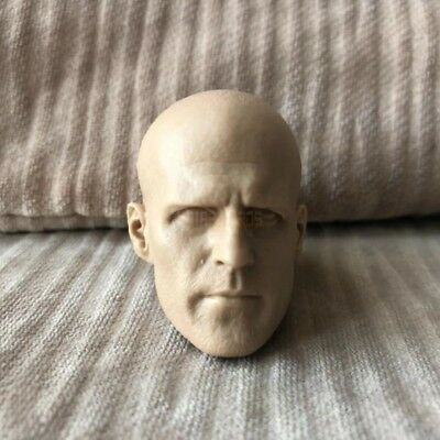 Free Shipping Custom 1//6 scale blank Head Sculpt Victor Creed X-men unpainted