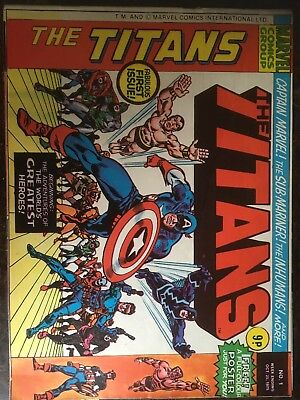 #1+:Titans'The'-58 Copies(Run)Marvel Comics Group InternationalLtd.UK Bulk Lot