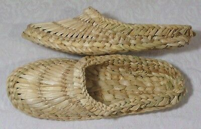 Antiques, Old Style Massage Heat Slippers Sneakers for Home & Bath Unisex