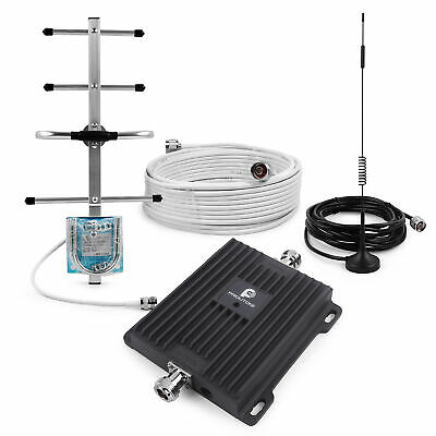 4G LTE AT&T 700MHz Cell Phone Signal Booster Mobile Repeater Kit for Band 12/17