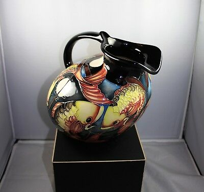 "A Limited Edition ""Fishing Around"" Moorcroft Jug by Vicky Lovatt No Reserve"